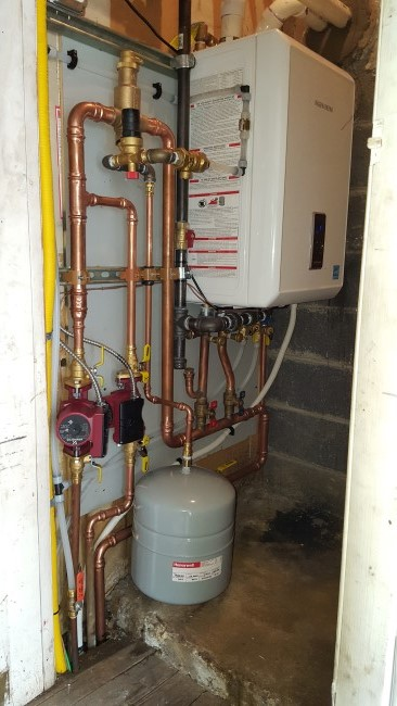 Oil to Gas Boiler Conversion in Saugerties, NY